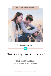 Not Ready for Romance My Name Is Elizabeth Anne