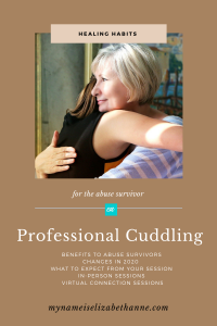 Changes to Professional Cuddling in 2020 Virtual Cuddle Session My Name Is Elizabeth Anne