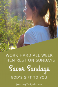 Savor Sundays Pin My Name Is Elizabeth Anne